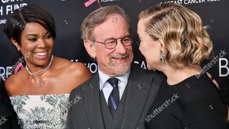 Gabrielle Union, Steven Spielberg, and Kate Hudson