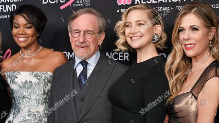 Gabrielle Union, Steven Spielberg, Kate Hudson and Rita Wilson