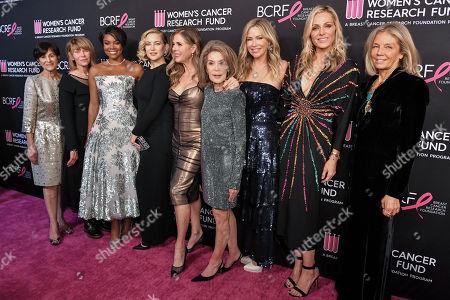 Stock Photo of Myra Biblowit, Kate Capshaw, Gabrielle Union, Kate Hudson, Rita Wilson, Marion Laurie, Quinn Ezralow, Jamie Tisch and Kelly Chapman Meyer