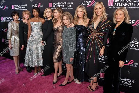 Myra Biblowit, Kate Capshaw, Gabrielle Union, Kate Hudson, Rita Wilson, Marion Laurie, Quinn Ezralow, Jamie Tisch and Kelly Chapman Meyer