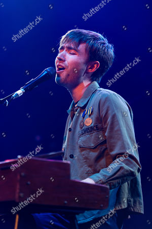Editorial picture of Matt Maltese in concert at the Roundhouse in London, UK - 27 Feb 2019