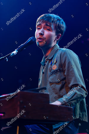 Editorial photo of Matt Maltese in concert at the Roundhouse in London, UK - 27 Feb 2019