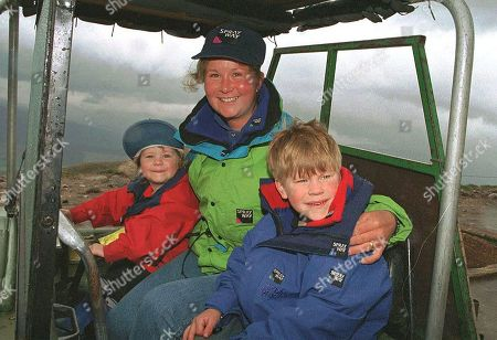 Editorial photo of Alison Hargreaves and family portraits, UK - 08 Sep 1995