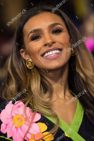 Melody Thornton poses for photographers upon arrival at the premiere of the film 'Captain Marvel', in London