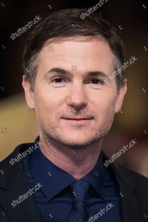 Ryan Fleck poses for photographers upon arrival at the premiere of the film 'Captain Marvel', in London