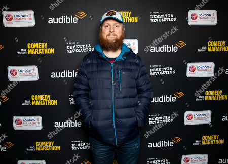 Editorial photo of 'Mark Watson's Comedy Marathon' launch event, London, UK - 27 Feb 2019