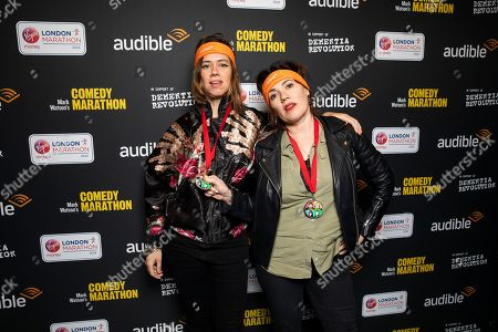 Editorial picture of 'Mark Watson's Comedy Marathon' launch event, London, UK - 27 Feb 2019