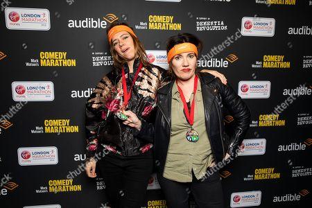 Editorial image of 'Mark Watson's Comedy Marathon' launch event, London, UK - 27 Feb 2019