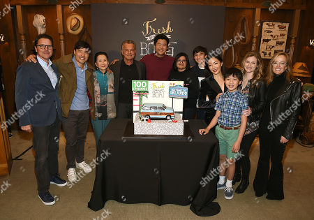 Nahnatchka Khan, Melvin Mar, Randall Park, Constance Wu, Hudson Yang, Ian Chen, Forrest Wheeler, Lucille Soong, Chelsey Crisp and Ray Wise