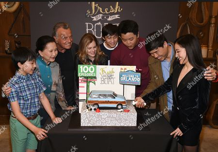 Randall Park, Constance Wu, Hudson Yang, Ian Chen, Forrest Wheeler, Lucille Soong, Chelsey Crisp and Ray Wise