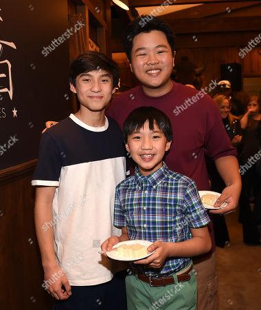 Hudson Yang, Ian Chen and Forrest Wheeler