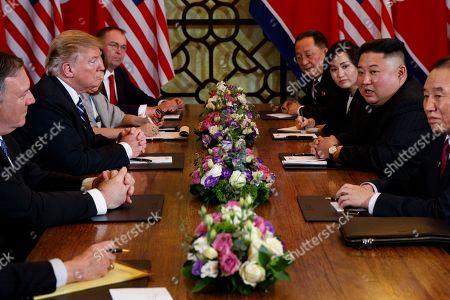 Editorial image of Trump Kim Summit, Hanoi, Vietnam - 28 Feb 2019