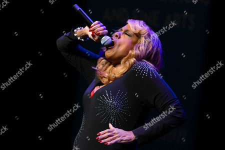 Stock Image of Honoree Jennifer Holliday performs