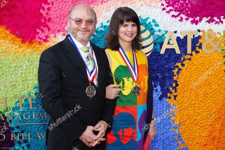 Stock Photo of Honorees Craig Edward Dykers and Elaine Mlinar