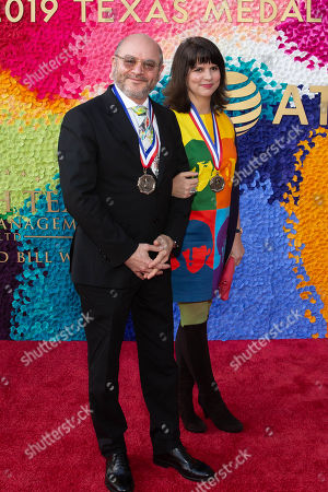 Stock Picture of Honorees Craig Edward Dykers and Elaine Mlinar