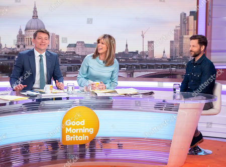 Stock Picture of Ben Shephard, Kate Garraway and Jamie Bamber
