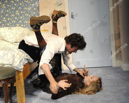 'Bedroom Farce' - Rachel Pickup (Susannah) Orlando Seale (Trevor )
