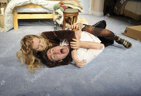 'Bedroom Farce' - Rachel Pickup (Susannah) and Orlando Seale (Trevor)