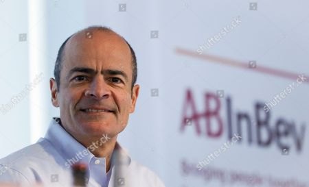 Carlos Brito, Chief Executive of Anheuser-Busch InBev, presents the company's results for 2018 during a news conference in Leuven, Belgium, 28 February 2019. The number one brewer in the world Anheuser-Bush InBev (AB InBev) announced a solid revenue growth of 4.8 percent and total volumes grew by 0.3 percent.