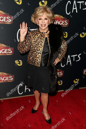 Editorial picture of 'Cats' opening night, Pantages Theatre, Los Angeles, USA - 27 Feb 2019