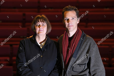 Stock Picture of Benedict Cumberbatch, President of LAMDA, London Academy of Music and Dramatic Art welcomes Sarah Frankcom as the Academy's new Director