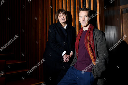 Stock Image of Benedict Cumberbatch, President of LAMDA, London Academy of Music and Dramatic Art welcomes Sarah Frankcom as the Academy's new Director