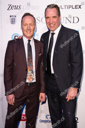 Lee Dixon and David Seaman