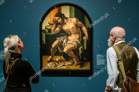 Stock Picture of Christ on the cold stone, c1530, by Jan Gossaert