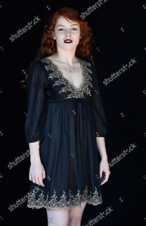 Camilla Diana poses during the photocall for the Rai TV series 'Il nome della rosa' (The Name of the Rose) in Rome, Italy, 28 February 2019.