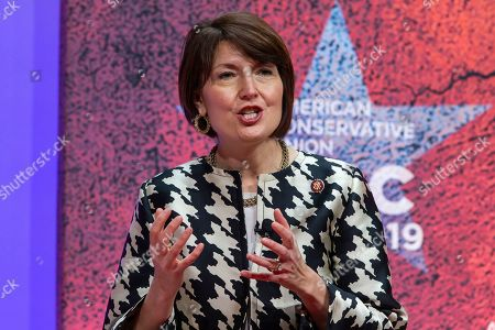 Republican Representative of Washington Cathy McMorris Rodgers speaks at the 46th annual Conservative Political Action Conference (CPAC) at the Gaylord National Resort & Convention Center in National Harbor, Maryland, USA, 28 February 2019. The American Conservative Union's CPAC continues through 02 March.