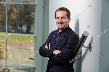 Editorial photo of Samsung UK Vice president Conor Pierce, Chertsey, Surrey, UK - 13 Feb 2019