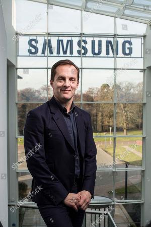 Editorial image of Samsung UK Vice president Conor Pierce, Chertsey, Surrey, UK - 13 Feb 2019