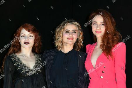 Camilla Diana, Greta Scarano, Antonia Fotaras