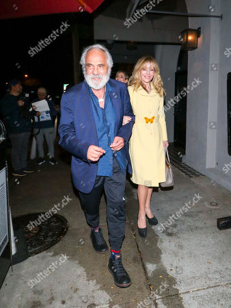 Tommy Chong and Shelby Chong at Craig's restaurant