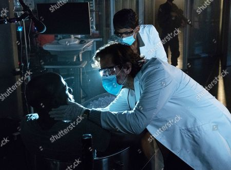 McKinley Belcher III as Anthony Carter, Henry Ian Cusick as Dr. Jonas Lear and Caroline Chikezie as Dr. Major Nichole Sykes
