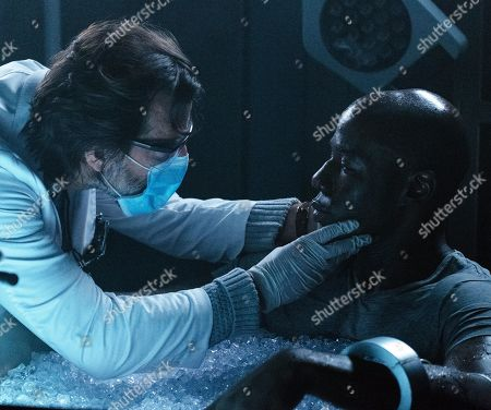 Henry Ian Cusick as Dr. Jonas Lear and McKinley Belcher III as Anthony Carter