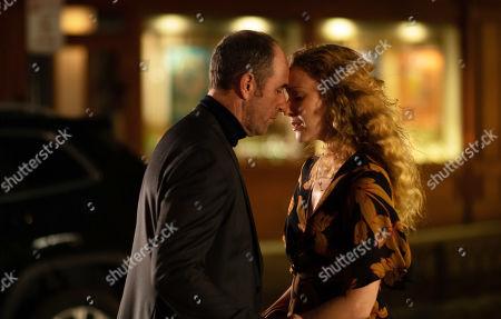 Jamie McShane as Dr. Tim Fanning and Jennifer Ferrin as Elizabeth Lear