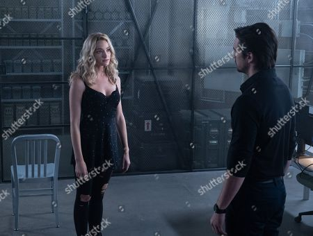 Brianne Howey as Shauna Babcock and Vincent Piazza as Clark Richards