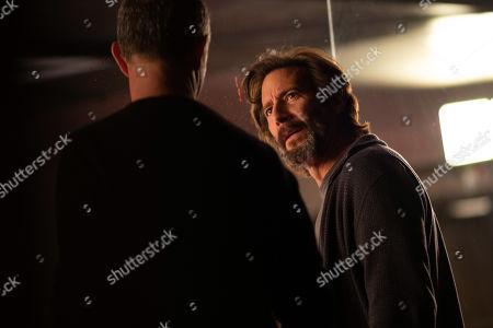 Jamie McShane as Dr. Tim Fanning and Henry Ian Cusick as Dr. Jonas Lear