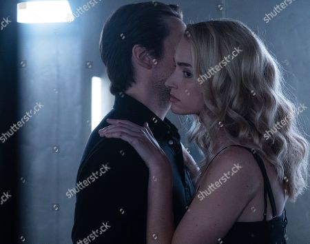 Vincent Piazza as Clark Richards and Brianne Howey as Shauna Babcock