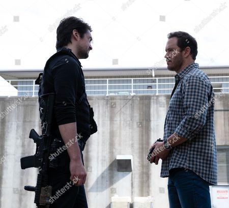 Vincent Piazza as Clark Richards and Mark-Paul Gosselaar as Brad Wolgast