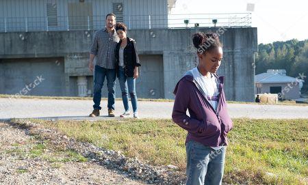 Mark-Paul Gosselaar as Brad Wolgast, Emmanuelle Chriqui as Dr. Lila Kyle and Saniyya Sidney as Amy Bellafonte