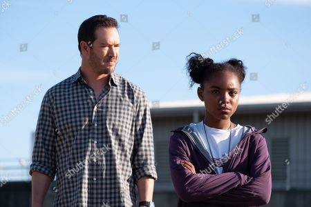 Mark-Paul Gosselaar as Brad Wolgast and Saniyya Sidney as Amy Bellafonte