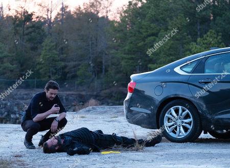 Vincent Piazza as Clark Richards and Matt Murray