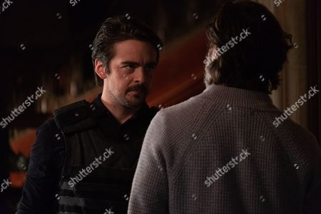 Vincent Piazza as Clark Richards and Henry Ian Cusick as Dr. Jonas Lear