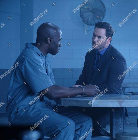 McKinley Belcher III as Anthony Carter and Mark-Paul Gosselaar as Brad Wolgast