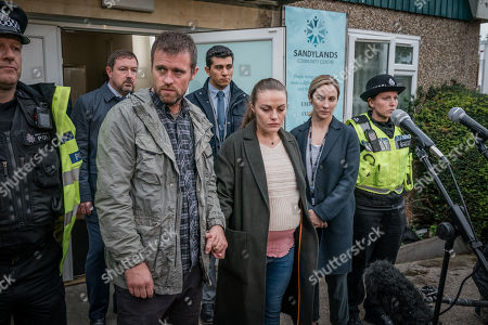Editorial image of 'The Bay' TV Show, Series 1, Episode 1 UK   - 2019