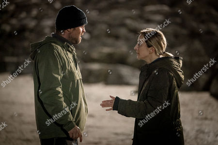 Jonas Armstrong as Sean Meredith and Morven Christie as Lisa Armstrong