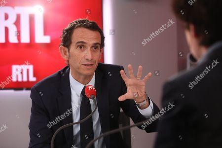Stock Image of Alexandre Bompard