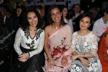 Aida Touihri, Laurence Roustandjee, Saida Jawad